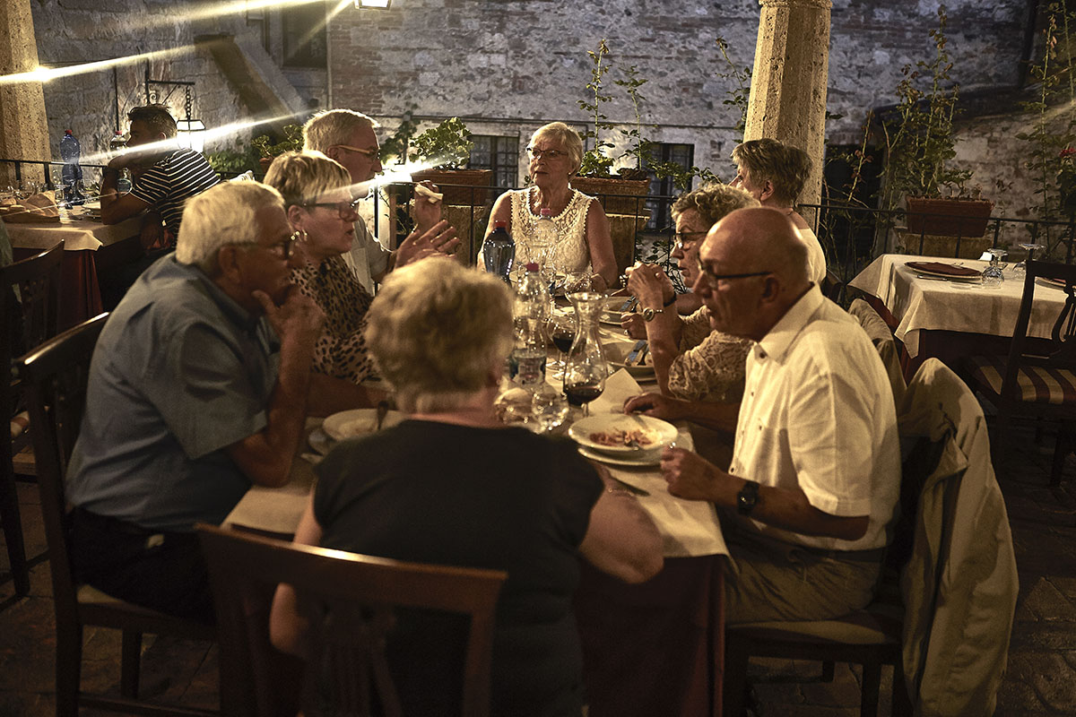 Groups and tour operators - Typical tuscan restaurant in Sarteano - Cloister terrace 2